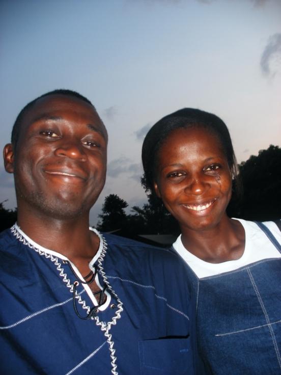 Patrick et Mireille Mba