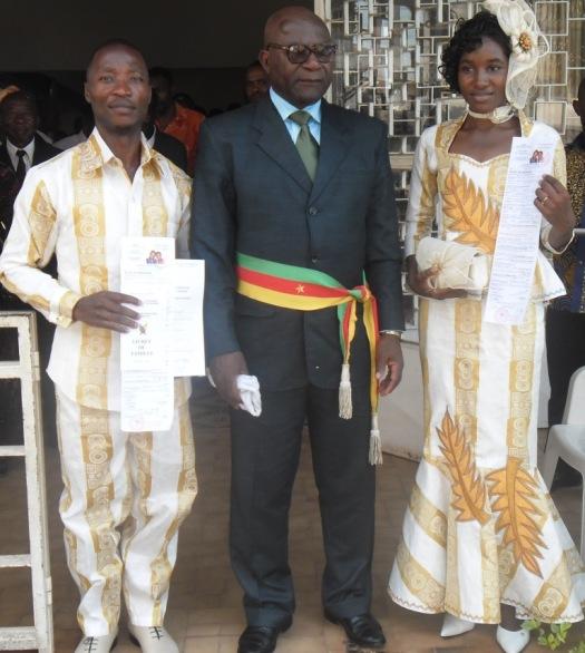 Newly wed/ Nouveaux mariés