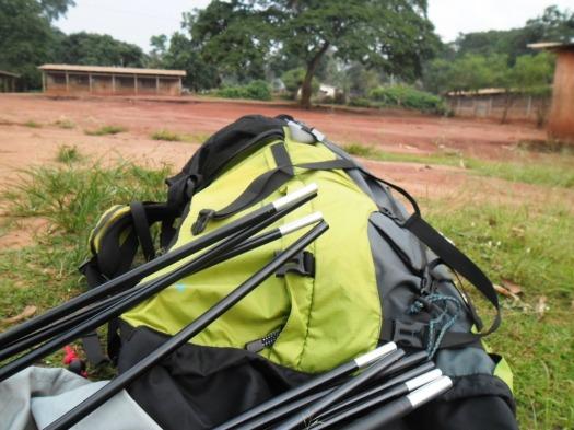 Jesus Film backpack